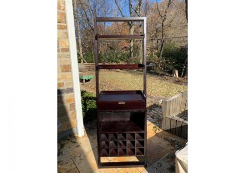 Crate & Barrel shelf